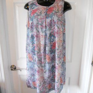 3/$22 H&M Colorful Floral Kaleidoscope Dress